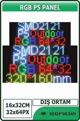 P5 RGB LED PANEL DIŞ MEKAN